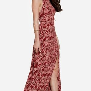 Stone Cold Fox 'Helmut' Crepe Gown - Size M/L, NWT